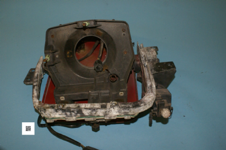 1984-1996 Corvette C4 RH Headlight Assembly 16500348 Bracket, 16500354 Housing, 16500364 Motor, Used Poor